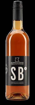 Premium Spätburgunder rosé vom Weingut Koppenhöfer