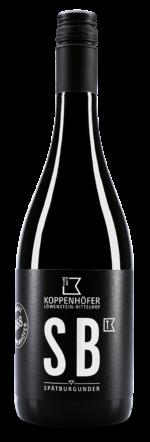 Spätburgunder trocken vom Weingut Koppenhöfer