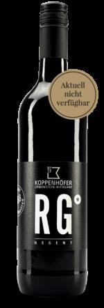 Rotwein Regent Premium vom Weingut Koppenhöfer